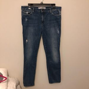 Joes Jeans The Skinny Distressed Medium Wash 32